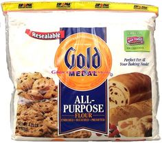 Gold Medal All-Purpose Flour Resealable  Size: 3 / 16 Found at ozbo.com for: $19.02