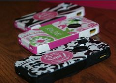 Monogrammed Ottorbox Case! finally.