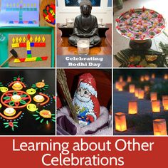 Learning about Celebrations Other Than Christmas - Picklebums - Ideen finanzieren Winter Christmas, Winter Holidays, Christmas Holidays, Christmas Party Pictures, Celebration Around The World, Holidays Around The World, Budget Planer, Christmas Activities, Fun Learning