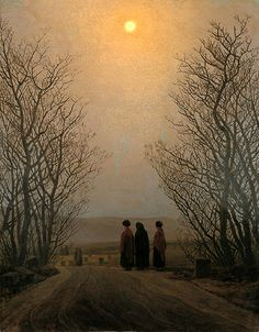Easter Morning, 1833 - Caspar David Friedrich