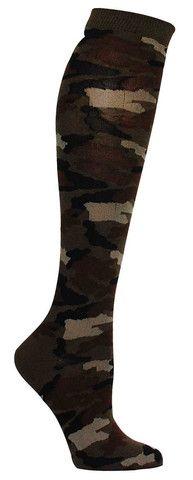 Camouflage Knee High Socks
