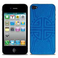 Beijing Imperial Silk Skin in Blue  For iPhone 4/4s by iChic Gear