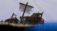 Crashed Pirate Ship