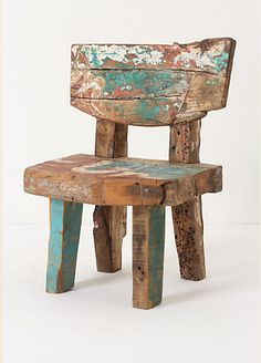 Limited Edition: Reclaimed Wood Chair