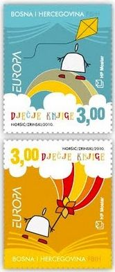Bosnia and Herzegovina (Croat post) - Europa 2010 Children's books stamp
