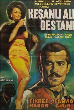 """✿ ❤ """"Keşanlı Ali Destanı"""", Atıf Yılmaz'ın yönetmenliğini üstlendiği 1964 yapımı Türk filmidir. Haldun Taner'in aynı adlı oyunundan uyarlanan yapımın başrollerini Fikret Hakan ve Fatma Girik paylaşmaktadır. Keşanlı Ali Destanı 2. Antalya Film Şenliği'nde """"En İyi Yönetmen"""", """"En İyi Erkek Oyuncu"""" ve """"En İyi Kadın Oyuncu"""" dallarında ödüle değer görülmüştür.(alıntı: Wikipedia)"""
