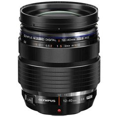 Olympus Zuiko Digital ED 12-40mm f/2.8 Pro Zoom Lens for Four Thirds System