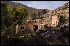Ruined watermill, Rambla de Oria, Almeria