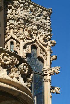 Spain. Reus. Modernist architecture