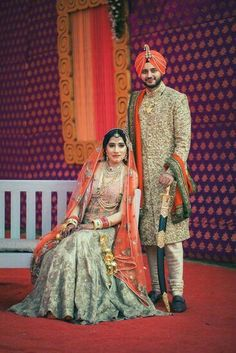 Beautiful pose of amazing punjabi couple