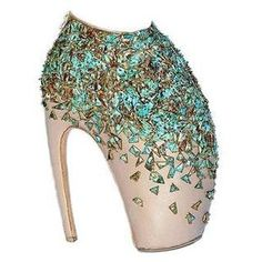 I'd love to wear these Alexander McQueen Armadillo Heels for a day just to say I did. #bucketlist
