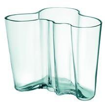 Aalto vase, green water