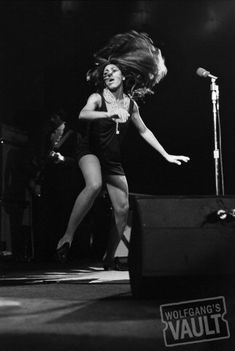 Tina Turner Fine Art Print - Vintage concert & sixties genre photos including rock concerts at the Fillmore, Fillmore East , and Winterland at Wolfgang's Vault.