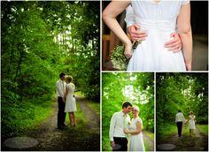 Romantic Intimate Wedding in the Woods, Berea, Kentucky