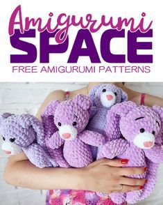 1000+ images about Crochet Toys on Pinterest | Free Amigurumi ... | 294x235