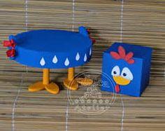 Resultado de imagem para bandejas para doces galinha pintadinha