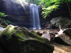 Waterfalls near Pittsburgh.