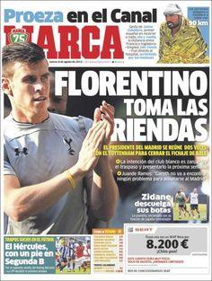 Los Titulares y Portadas de Noticias Destacadas Españolas del 8 de Agosto de 2013 del Diario Marca ¿Que le pareció esta Portada de este Diario Español?