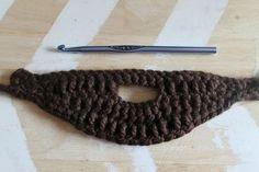 Crochet Beard Pattern » Twin Dragonfly