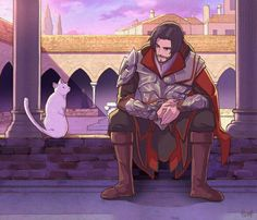 ah. the second part of the cat plus ezio series.