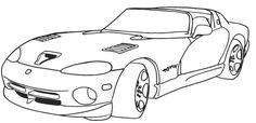 Koenigsegg CCR 2005 Coloring Page