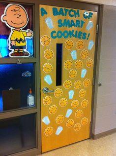Great Idea for classroom door!