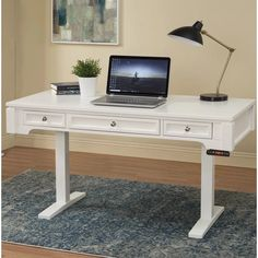 Rosalind Wheeler Rockwell Height Adjustable Standing Desk | Wayfair