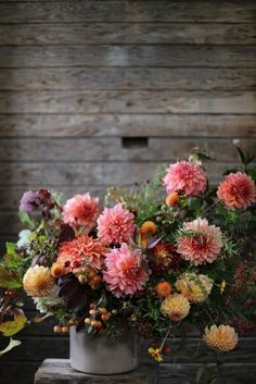 Dahlias at floret