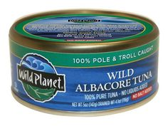 100 Cleanest Packaged Food Awards 2014: Lunch: Wild Planet Wild Albacore Tuna, No Salt Added http://www.prevention.com/food/smart-shopping/100-cleanest-packaged-food-awards-2014-lunch?s=4