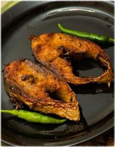 Hands down, my favourite fish - Elish Mach (Hilsa fish). This is a Bengali favorite. If you can get past the million little bones, this is one of the tastiest river fish available.
