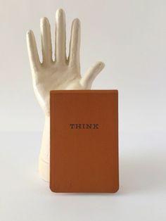 Vintage IBM Think Notepad by VintageRetrievers on Etsy