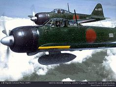 Mitsubishi a6m Zero - Pin it by GUSTAVO BUESO-JACQUIER