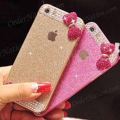 Rs 1200 (Free Delivery) (Cash on Delivery) Luxury Glitter Powder Bow Bling Crystal Dimond Case Avaialbe in: iPhone 5 5s 6 6s 6 plus 6s plus Samsung: S6 edge S6 edge plus J5 Core Prime Grand Prime How to place order: - Inbox us on Facebook - Whatsapp us : 03064744465 Website : http://ift.tt/23H9nFC - http://ift.tt/1MNMhRR