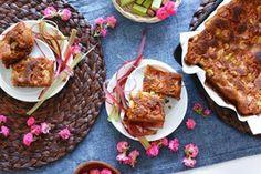 Original #Recipe: Fruity Vanilla & Almond #Rhubarb Cake