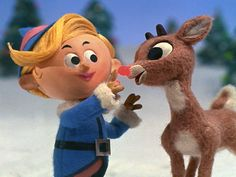 Follow Your Dreams!  Remember Hermey the Elf?  He quits his job at the North Pole and befriends Rudolf.  Together they journey together thinking they are social misfits, but in the end.  They are both heros!