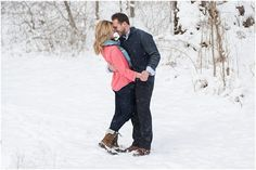 Alley Park snow winter Engagement Session Pipers Photography http://www.pipersphotography.com Columbus Ohio Wedding Photographer Krista Piper, Pipers Photography, Ohio Wedding Photographer Central Ohio Wedding Photographers Pipers Photography Columbus Ohio.  Nashville Weddings, Nashville engagements, Charleston South Carolina Weddings, Charleston South Carolina engagements, Hawaii engagement, Hawaii Wedding, Outdoor private property engagement