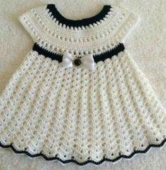 Vestido nina a crochet muy facil y rapido - DiyForYou