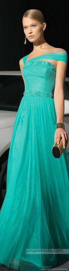evening dress; evening gown