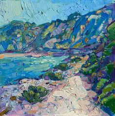 Morning Stroll - Contemporary Impressionism | Landscape Oil Paintings for Sale by Erin Hanson