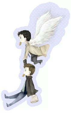 Castiel. Dean winchester.