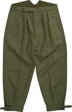 Firley Herringbone Tweed  Plus Fours Shooting Breeks | Field Clothing