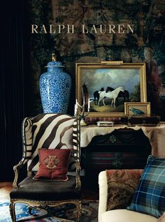 51 Trendy Home Living Room Ralph Lauren British Colonial Decor, Equestrian Decor, Ralph Lauren Style, Trendy Home, Home And Deco, Wabi Sabi, Textured Walls, Beautiful Interiors, Home And Living