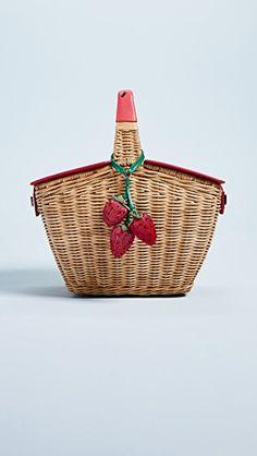 Kate Spade New York Picnic Perfect 3D Wicker Basket
