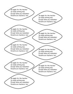 21 Best Meet the teacher poems & ideas images in 2013