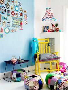 Фотография: Детская в стиле Скандинавский, Декор интерьера, Текстиль, Декор, Декор дома, Пэчворк, идеи для интерьера, пэчворк в интерьере – фото на InMyRoom.ru