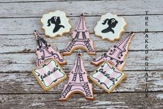 ... of doing the typical tea party cookies she wanted to create a shabby chic look.