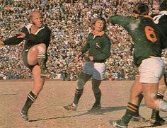 Sid Going. All Blacks vs Springboks