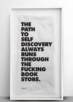 The path to self discovery... (via Reason to Read)