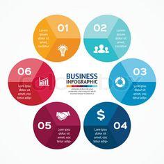 Circle infographic. Diagram, graph, presentation.                              …