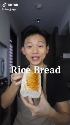 Rice Bread, Asian Rice, Vegan Bread, Eat To Live, Instant Yeast, How To Make Bread, Going Vegan, Healthy Cooking, Gluten Free Recipes